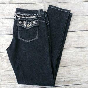 Black Imperial Star Skinny Jeans Jr 11